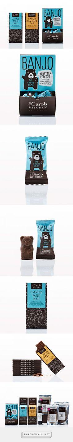 The Carob Kitchen — The Dieline - Branding & Packaging