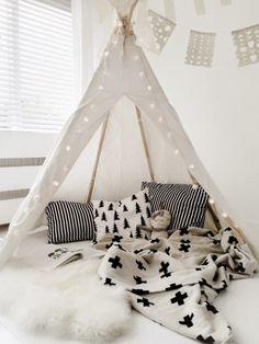 Cooles Tippie Zelt zum Nähen