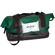 Dry Pak DRY PAK Waterproof Duffel, XL, 6712 cu. In. (110 L), Green