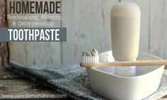 Homemade Remineralizing, Whitening And Cavity-Fighting Toothpaste | http://improvedaging.com/homemade-remineralizing-whitening-and-cavity-fighting-toothpaste/