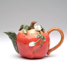 This Apple Tea Pot is perfect! #zulilyfinds