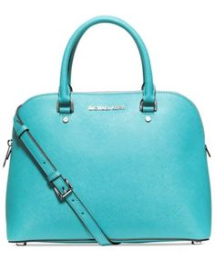 MICHAEL Michael Kors Cindy Large Dome Satchel | macys.com