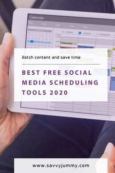 Best free social media scheduling tools 2020 Social Media Strategy Plan, Social Media Scheduling Tools, Social Media Statistics, Social Media Automation, Social Media Management Tools, Social Media Analytics, Social Media Content, Social Media Marketing, Marketing Automation