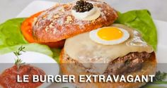 "Found at Serendipity 3 in Manhattan, ""Le Burger Extravagant"" isn't your typical hamburger. $295.00  The bun—a campagna roll – is dusted wi..."