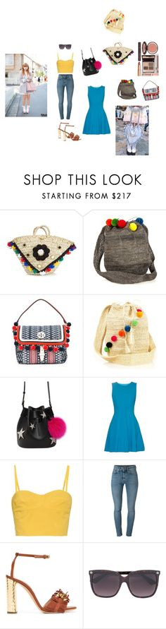 """Pompom Bags..**"" by yagna ❤ liked on Polyvore featuring Muzungu Sisters, Tory Burch, Les Petits Joueurs, Diane Von Furstenberg, Tomas Maier, Yves Saint Laurent, Casadei, Gucci, Samantha Thavasa and Charlotte Tilbury"
