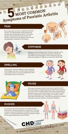 5 Most Common Symptoms of Psoriatic Arthritis