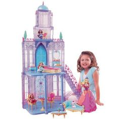 New Barbie� The Diamond Castle Playset Doll Pet not Included | eBay