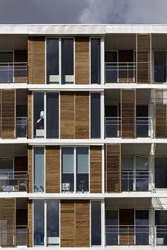 Mangor & Nagel A/S - ØSS 5 – Ørestad Housing, Copenhagen, Denmark (2013) #housing #details #architecturaldetails