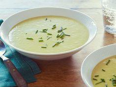 Alton Brown's Leek Potato Soup Recipe