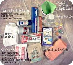 love packs (for the homeless) - More than just food good ideas to put into kits.