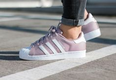 Adidas Superstar 80's W Blanch Purple 'Polka Dot'