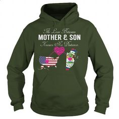 Mother Son - United States, Belize - #designer t shirts #print shirts. GET YOURS => https://www.sunfrog.com/States/Mother-Son--United-States-Belize-Forest-Hoodie.html?60505