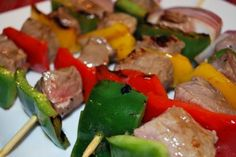 Steak and Veggie Kabobs - The Cooking Mom