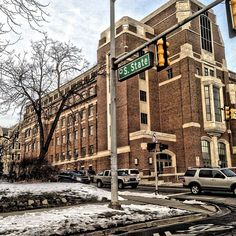 State Street in the #winter #umich #uofm #michigan