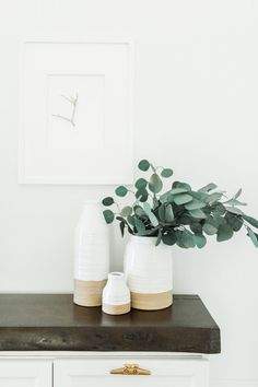 simple, minimalism style tabletop vignette | Photography: Courtney Malone