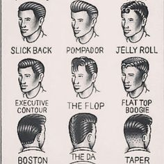 mens hair west side story - Google Search