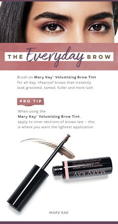 4d9f2353201 Raise the brow bar! Quickly whip eyebrows into shape for a naturally  beautiful everyday makeup look. Mary Kay