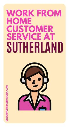 Looking for an opportunity to work from home? Sutherland is currently searching for someone to fill the role of the work at home customer support position. If this is a role you may be interested in, here are the details! #hiring #onlinejob #workathome