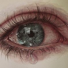 ideas eye crying drawing art beautiful for 2019 Makeup For Green Eyes, Blue Eye Makeup, Eye Pencil Drawing, Pencil Drawings, Cry Drawing, Crying Eyes, Eye Close Up, Eye Sketch, Eye Logo