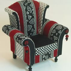 Whimsical miniature furniture, love this pin from another pinner kathy, but it's not leading me to a site.