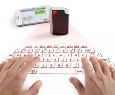 Latest Invention: CTX Develops World's Smallest Virtual Keyboard - Technology - InfoNIAC - Latest Inventions