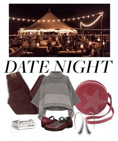 """Date Night -  Glamping"" by pampire ❤ liked on Polyvore featuring Olivia Miller, Levi's, Piazza Sempione and Naot"