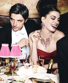 Anne Hathaway  -  Vogue US 2010 by Mario Testino