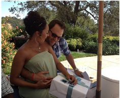 Tamera Mowry-Housley Celebrates Hubby's Birthday & Her BABY SHOWER! | The Young, Black, and Fabulous