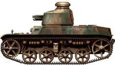 AMC-34, early model with the 1917 cast Berliet turret