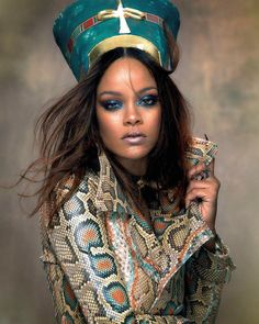 Rihanna (@rihanna.today) vogue arabia #rihanna