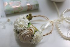 Vintage style Chic    Wrist corsages for Bride by EdenBridal, £12.00