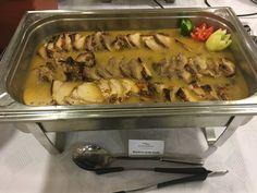 Mustáros sertés borda Alföld Gyöngye Hotel módra az étteremben