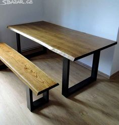 Dining Bench, New Homes, Inspiration, Furniture, Home Decor, Dining Rooms, Mesas, Biblical Inspiration, Decoration Home