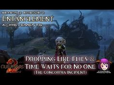Dropping Like Flies & Time Waits for No One achievements in Season 2: Episode 2: Entanglement 03 The Concordia Incident