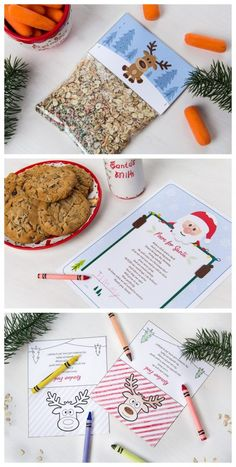 Reindeer food recipe, for Christmas eve, and free printable tags for the reindeer food bags