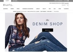 Shop discounted denim at Bluefly's Denim Shop