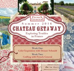 French General Chateau Getaway 2016 A little bit about our home away from home...We will be living in an 18th century chateau which has been updated and appointed with all of the charms of a moder