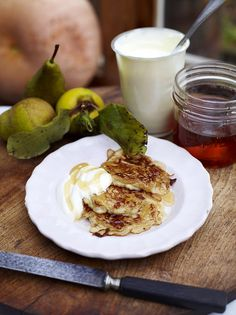 Breakfast Pancakes | Fruit Recipes | Jamie Oliver Recipes