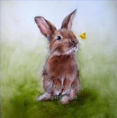 bunny painting - Google Search