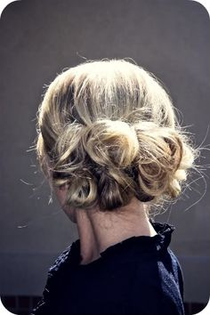 Messy Mini Buns.