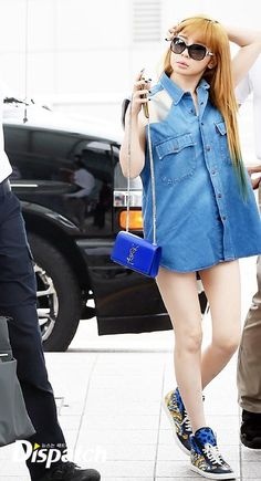 2NE1 Park Bom at Incheon Airport