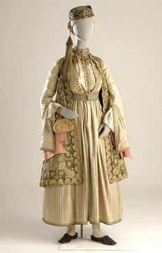 Welcome to Europeana Greek Traditional Dress, Traditional Outfits, Historical Costume, Historical Clothing, Greek Dress, Greek Clothing, Folk Costume, Western Outfits, Character Outfits