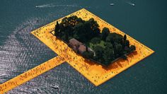 Floating piers by Christo and Jeanne-Claude in Lake Iseo, Italy || The Island of San Paolo || Christo and Jeanne-Claude's official website