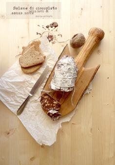 salame di cioccolato #senzaburro #senzauova