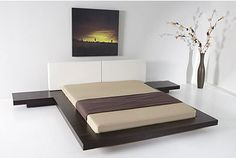 Worth Platform Bed - Queen