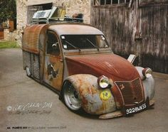 Citroen 2CV Rat Rod Más