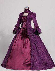 Ladies 18th Century Marie Antoinette Masked Ball Victorian Costume Renaissance Dresses For Sale Alternative Measures