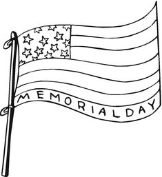 memorial day coloring page | honor. | Pinterest | Coloring ...
