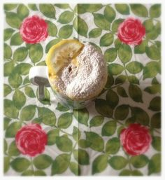 Torta in tazza al limone