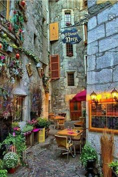 Rue Filaterie, Annecy France